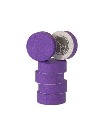 Nanolex Polishing Pad DA 32x12 Medium Purple (burete mediu) pot fi folosiți impreuna cu o pasta pentru inlaturarea zgarieturilor medii sau one step.