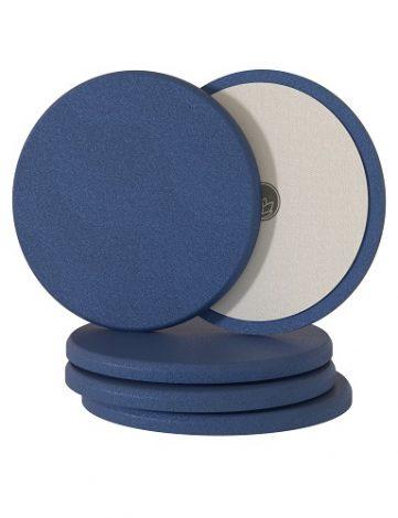 Nanolex Polishing Pad 150x12 Soft Dark Blue 5 buc sunt realizați dintr-o spumamoale, conceputa pentru alasa un finisajfara cusur si lipsit de holograme.