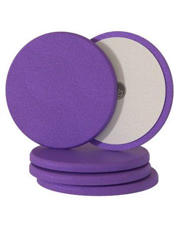 Nanolex Polishing Pad 150x12 Medium Purple 5 buc pot fi folosiți impreuna cu o pasta medie de poliș pentru inlaturarea zgarieturilor medii, moderate.