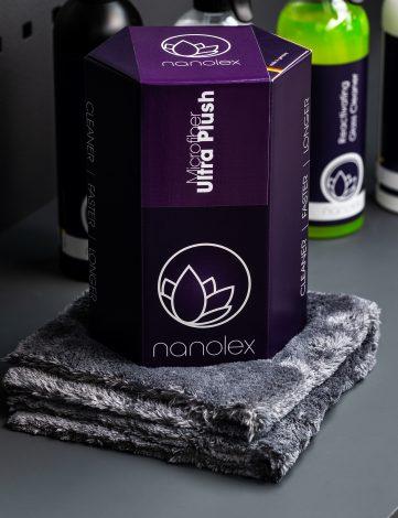 Nanolex ultra plush laveta microfibra finisare