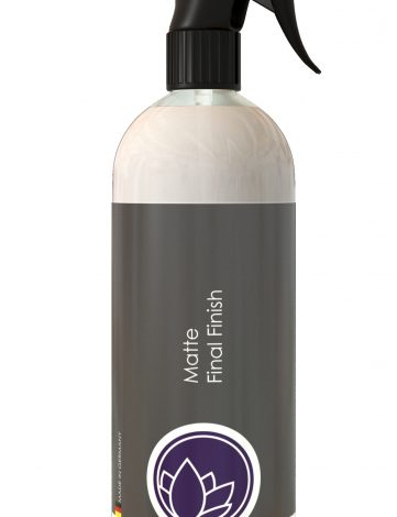 Nanolex Matte Final Finish 750ml quick detailer