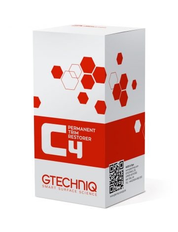 Gtechniq C4 Permanent Trim Restorer 30ml - Restaurator plastice formeaza o legatura chimica de lunga durata (2 ani) cu plasticul dupa o singura aplicare.