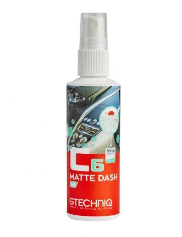 Gtechniq C6 Matte Dash AB 100ml omoara 99,99% dintre bacterii. Protejeaza toate suprafețele interioare impotriva razelor UV, abraziunii, murdăriei si apei
