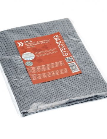 Gtechniq MF4 Diamond Sandwich Microfibre Drying Towel - Prosop Uscareasigura o uscare fara urme; strat exterior foarte moale si ultra absorbant.