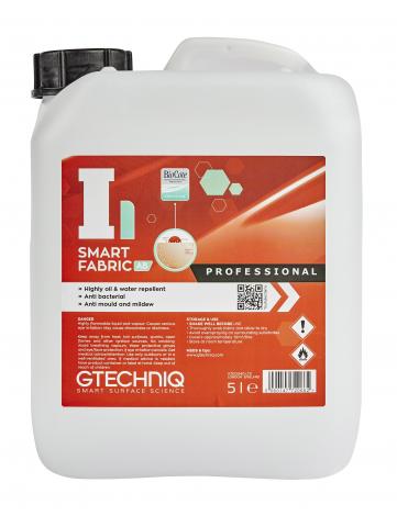 Gtechniq I1 Smart Fabric AB - Tratament Hidrofob Tesatura respinge apa, uleiurile. Poate fi folosit pe canapele, imbracaminte, incaltaminte, soft top