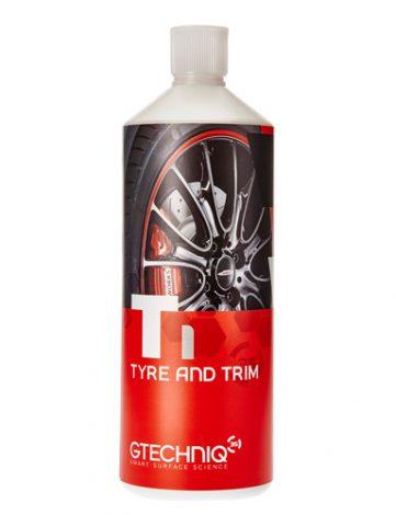 Gtechniq T1 Tyre and Trim 1L - Anvelope si bandouri a fost creat pentru a mentine anvelopele negre si fara pete pentru mai mult de un an.