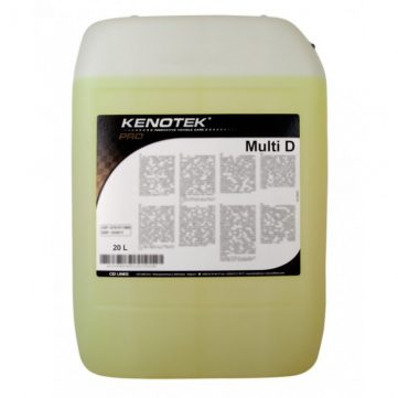 Kenotek Multi D 5L - APC si Degresant puternic. Miros de grapefruit. Pentru pete persistente, cerneala, ulei, nicotină, interior, exterior, motor