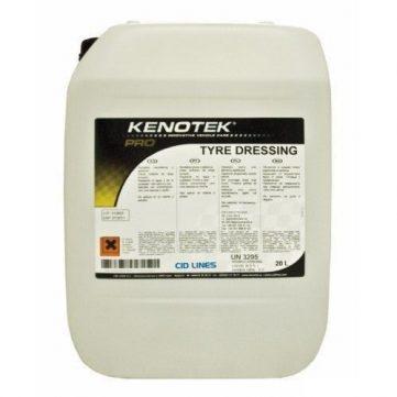 Kenotek Tyre Dressing 5L - Cauciuc si Plastic revitalizează cauciucul şi plasticul şi oferă luciu de lungă durată. Respinge apa si murdaria