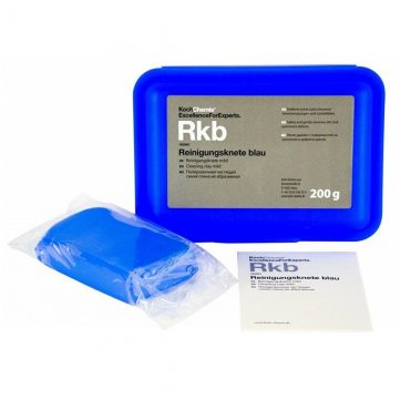 Koch Chemie Argila Decontaminare Medie Rkb 200gr indeparteaza depunerile de rasina a copacilor, insecte, poluare industriala, bitum, calcar etc.