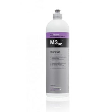 Koch Chemie Micro Cut M3.02 1L - Pasta Polish Finish indeparteaza holograme, zgarieturi fine si urme de hartie abraziva de pana la P3000. Luciu incredibil!