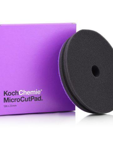 Koch Chemie Burete Polish Fin Micro Cut Pad - burete fin pentru inlaturarea zgarieturilor fine, hologramelor si alte urme de polish. Duritate la compresie: 10; Abrazivitate: 5.