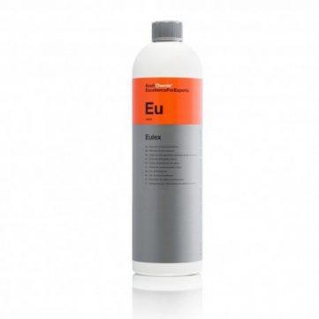 Koch Chemie Eulex 1L - Adeziv si Bitum decontaminant chimic. Elimina adezivul, vopsea, ceara parafina, gudron, bitum şi a altor poluanţi.