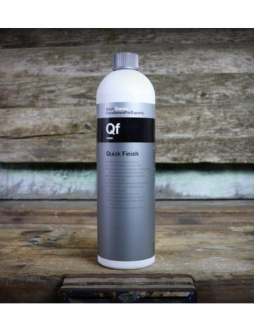 Koch Chemie Qf Quick Finish 1L - Quick Detailer curata, mentine si pastreaza suprafetele curate. Luciu briliant. Perfect pentru showroom, targ, valeting