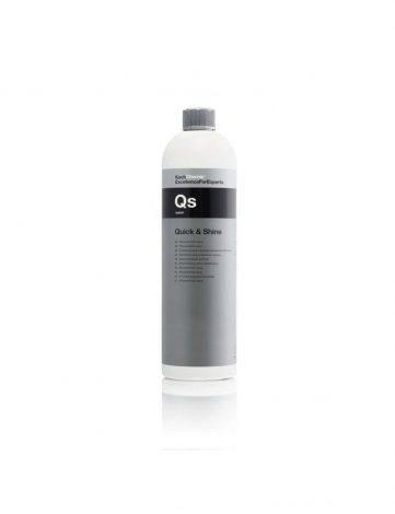 Koch Chemie Qs Quick & Shine 1L - Quick Detailer curata, mentine si pastreaza suprafetele curate. Luciu briliant. Perfect pentru showroom, targ, valeting