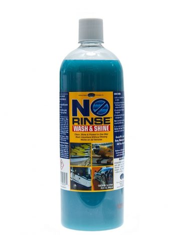 Optimum No Rinse Wash and Shine 950ml